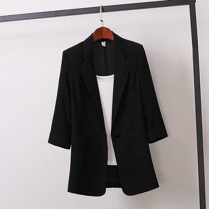2021 Loose Small Suit Jacket New Large Size Blazer