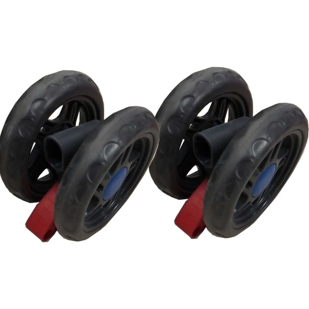 Set of 2 Rear Wheels for Stroller WB402 WonderBuggy