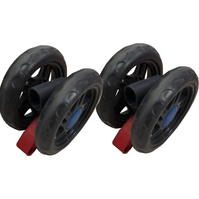 Set of 2 Rear Wheels for Stroller WB401 WonderBuggy