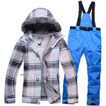 Ski Suit Women's Winter Outdoor Slippery Thickened Warm Waterproof