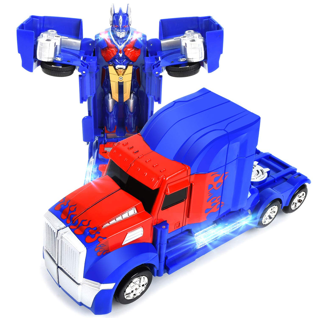 Transforming Truck Toy