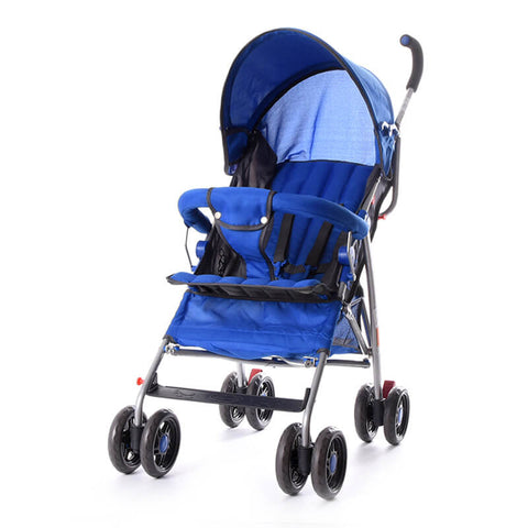 WonderBuggy Best Baby Strollers Multi Position Easy Fold Stroller Black