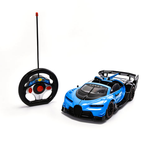 WonderPlay Transforming Truck Toy Realistic Robot Bump and Go Action with Sounds and Colorful Lights