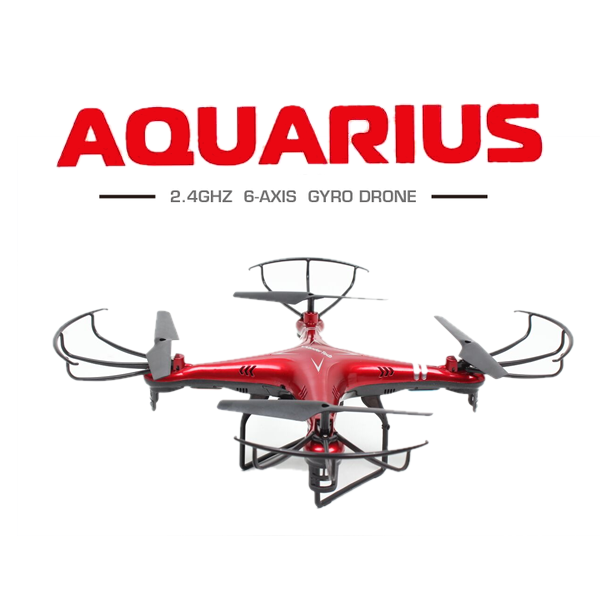 Drone Helicopter For Travel With A Built-in Camera Aquarius