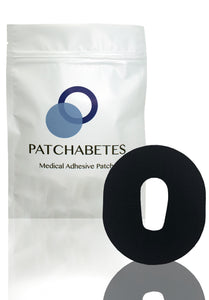 Dexcom G6 Adhesive Patches - Black