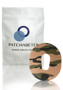 Camo Patches For Dexcom G6 - Desert