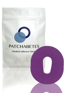 Dexcom G6 Adhesive Patches - 20 Count - Purple