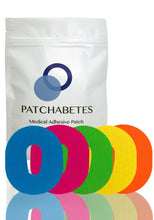 Load image into Gallery viewer, Dexcom G6 Adhesive Patches - 20 Count - Rainbow Pack