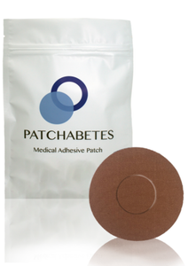 Adhesive Patch For Medtronic, Freestyle Libvre Adhesive Cover - Brown