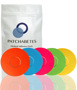Freestyle Libre Adhesive Patches - 20 Pack - 5 Colours - Medtronic, Enlite & More!