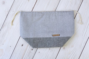 Sweater Sack | Sparkly Grey