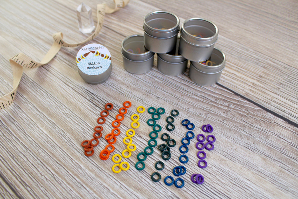 Vintage Rainbow Set | Stitch Markers