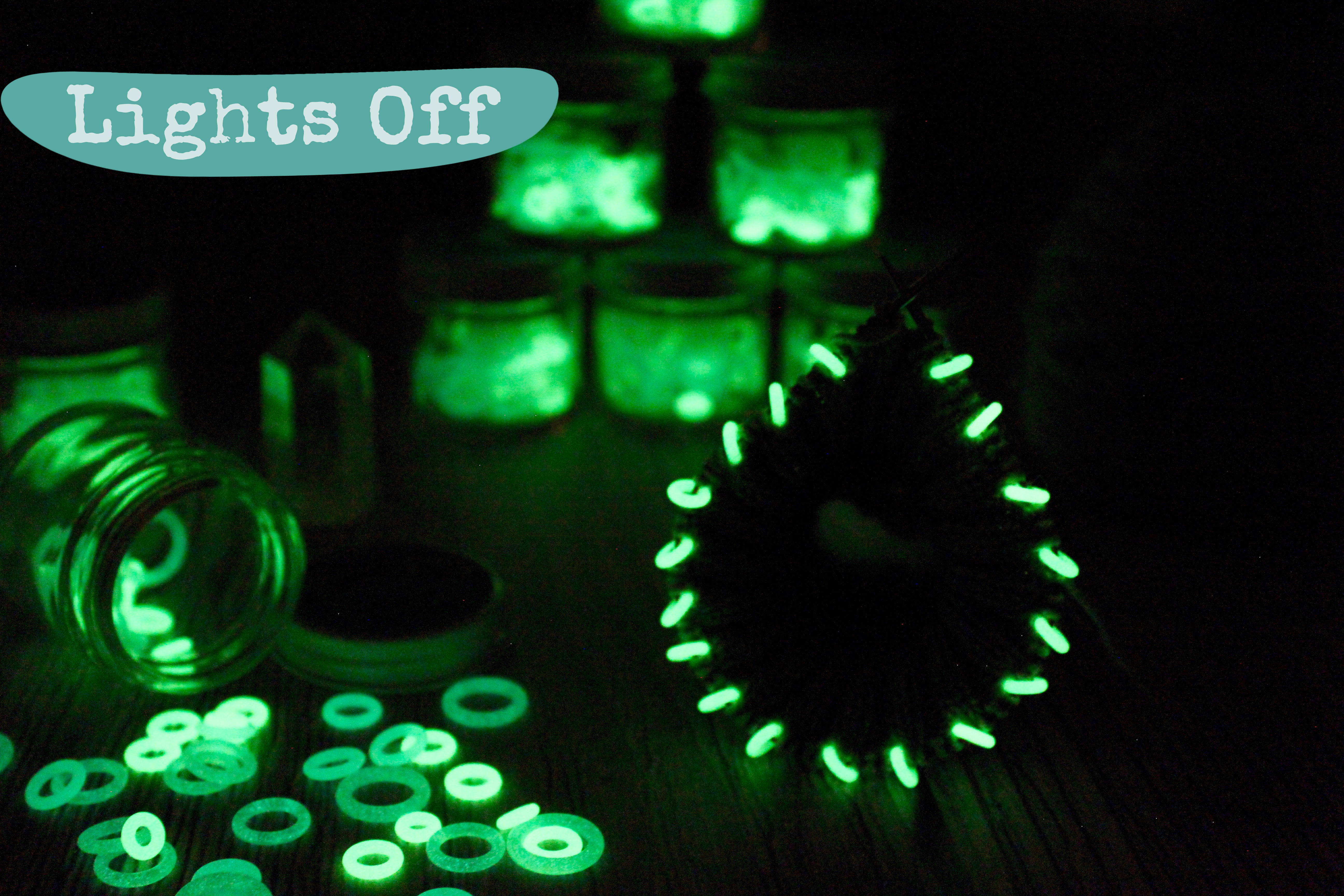 Glow in The Dark Silicone Set | Stitch Markers