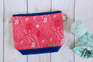 Oddball Shawl Sack* Specialized | Hot Pink Floral