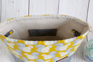 Oddball Shawl Sack | Yellow Squirrels