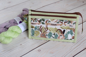Natural History Inside Outside Pouch | Flora and Fauna