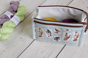 Natural History Inside Outside Pouch | Caged Birds
