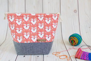Shawl Sack | Red Foxes