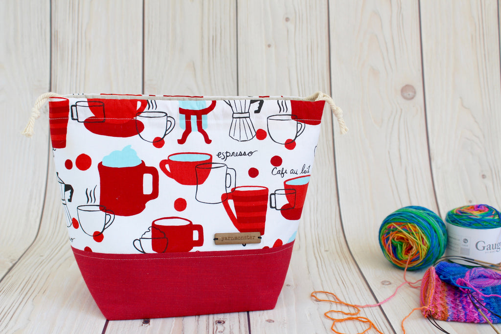 Shawl Sack | Caffeinated Reds