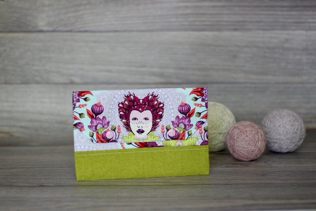 Knitting Notions Clutch | Elizabethan Floral Print Notions Clutch