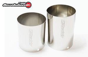 Revolution RS Exhaust - Optional Revolution RS SUS 304 Tip(s) 105mm
