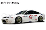 Rocket Bunny Full Wide-Body Aero Kit (FRP) V1 - Nissan 180SX/240SX