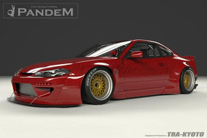 Rocket Bunny Full Wide-Body Aero Kit (FRP) - Nissan S15