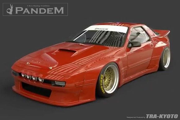 Pandem Wide-Body Aero Kit - Mazda RX7 (FC3S)