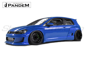 Pandem Wide-Body Aero Kit - VW Golf MK7