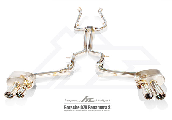 Fi Exhaust - Porsche Panamera 970.2 S 3.0T (Longer Version 150mm Longer) 2014-2016