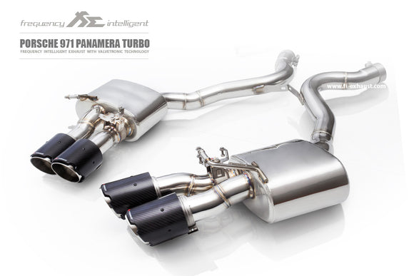 Fi Exhaust - Porsche Panamera 971 Turbo 2017+ (Longer Version 150mm Longer)