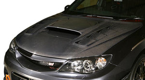 Varis Vented Cooling Hood (Bonnet) For 2007-14 Subaru Wrx Sti [Grb] Vbsu-114/115/117