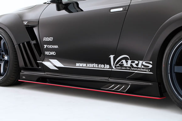 Varis '13 Version Side Skirt Set For 2009-19 Nissan Gt-R [R35] Vani-076/077