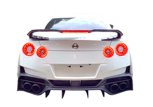Varis Magnum Opus '19 Version 2 Rear Bumper For 2017-19 Nissan Gt-R [R35] Vani-247c