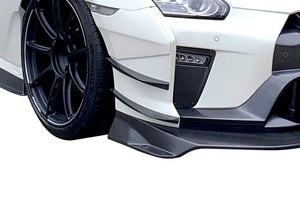 Varis Magnum Opus '19 Version 3 Double Canard Set For Front Bumper Version 3 For 2017-19 Nissan Gt-R [R35] Vani-244c