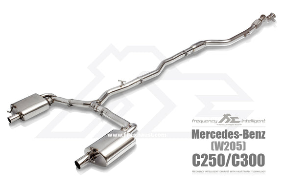 Fi Exhaust - Mercedes Benz W205 C400 C450 C43