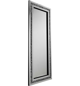 Gatsby Crushed Diamond Mirrored X Large Bling Mirror