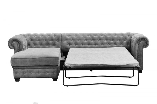New Letty Chesterfield Corner Sofabed Furness Home Interiors