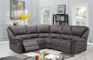 Boston Grey Corner Reclining Sofa