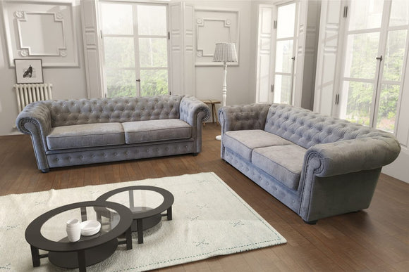 New Chesterfield 3+2 Seater Sofas - Various Colours Available