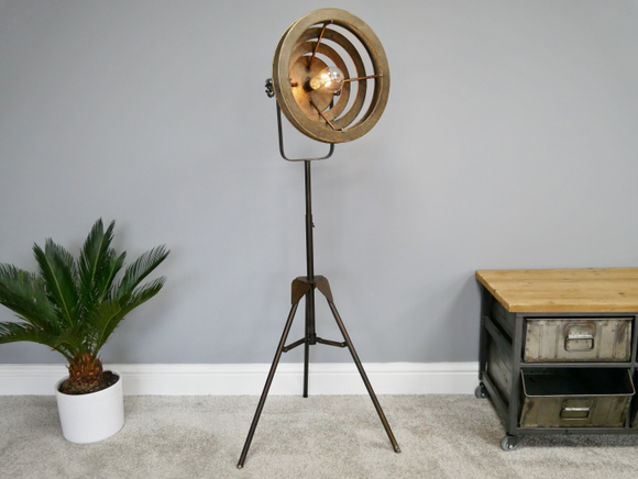 Industrial Vintage Retro Floor Lamp Adjustable Height