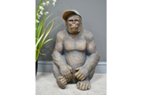 Large Gavin The Gorilla Ornament Antique Gold