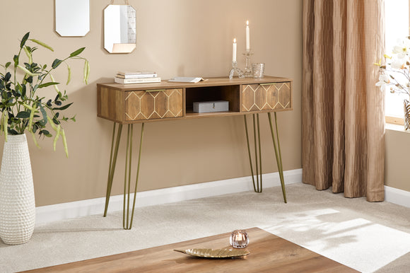 ATLANTICA 2 DRAWER CONSOLE TABLE