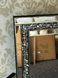 Gatsby Crushed Diamond Mirrored Drssing Table Mirror