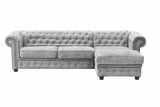 New Letty Chesterfield Corner Sofabed