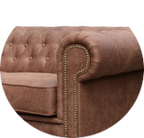 Astor Chesterfield Faux Suede Range