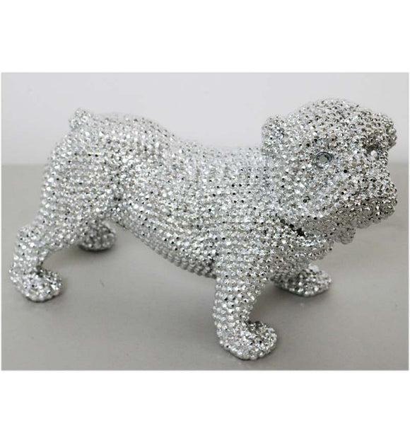 "Large 16"" Jewel Standing Dog"