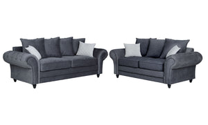 NEW Roma Sofa Range 3 Seater, 2 Seater, Armchair - Various Colours