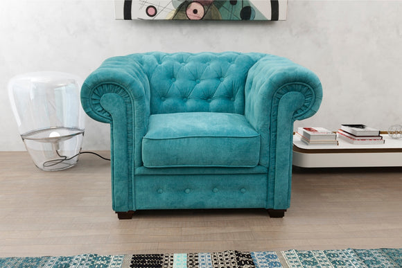 New Chesterfield Club Armchair - Various Colours Available