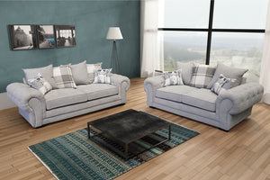 Molly 3 + 2 Seater Sofa Set Suite 10 Colours Now Available